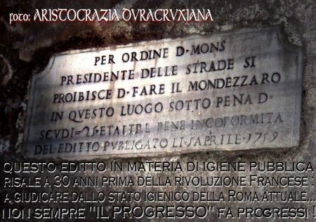 FOTO-PERLA su editto immondizia papalino