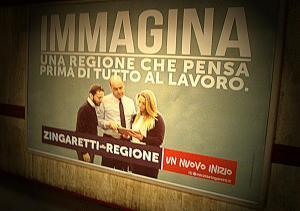 manifesto Zingaretti